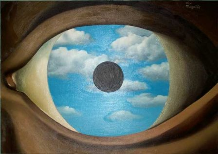 Magritte falso specchio 1928 in poesia filosofia - Poesia lo specchio ...
