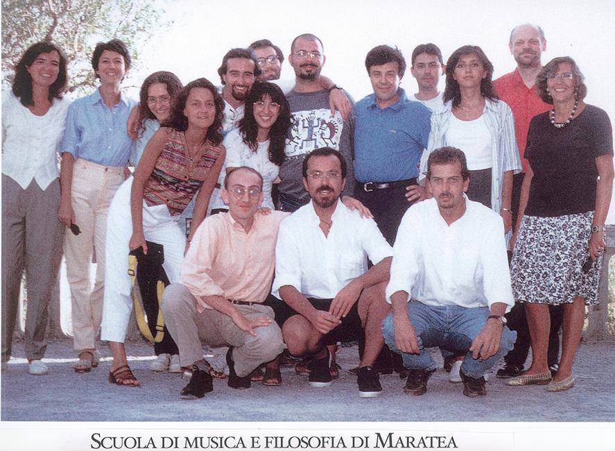 Corsisti Scuola di Maratea II-1997