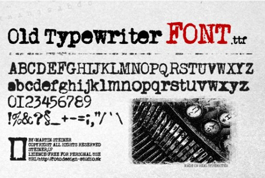 Old Fashioned Fonts Dyslexic Friendly