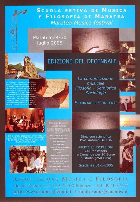 Manifesto Bando 2005