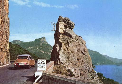 Una cartolina storica di Maratea