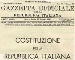 La costituzione della repubblica italiana in poesia for Senatori della repubblica italiana nomi