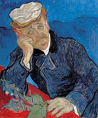Vincent Van Gogh, Portrait du docteur Paul Gachet, 1890